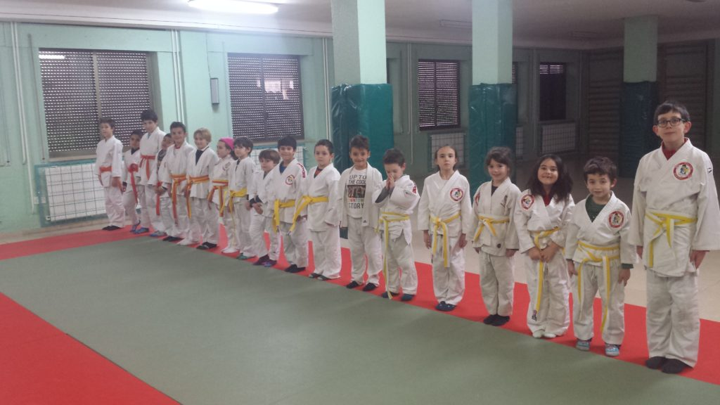 Judo en el colegio Santa Catalina