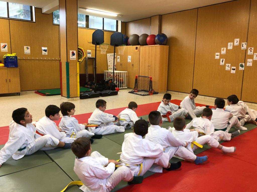 judo en el colegio Sagrado Corazón