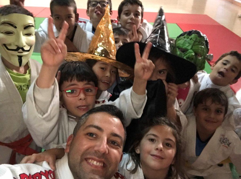alumnos del colegio San Juan Bosco