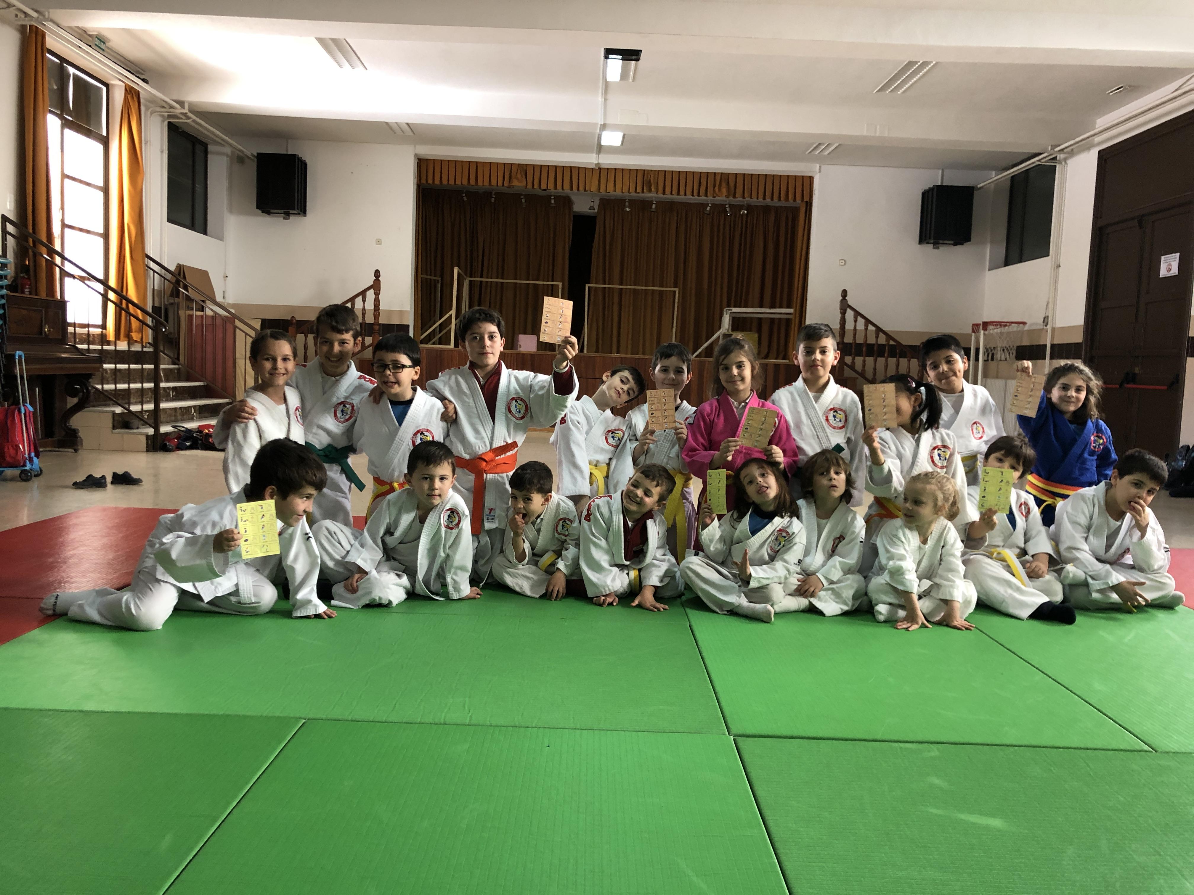 Judo en el colegio San Juan Bosco