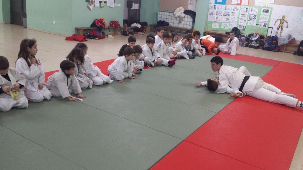 alumnos del colegio Santa Catalina