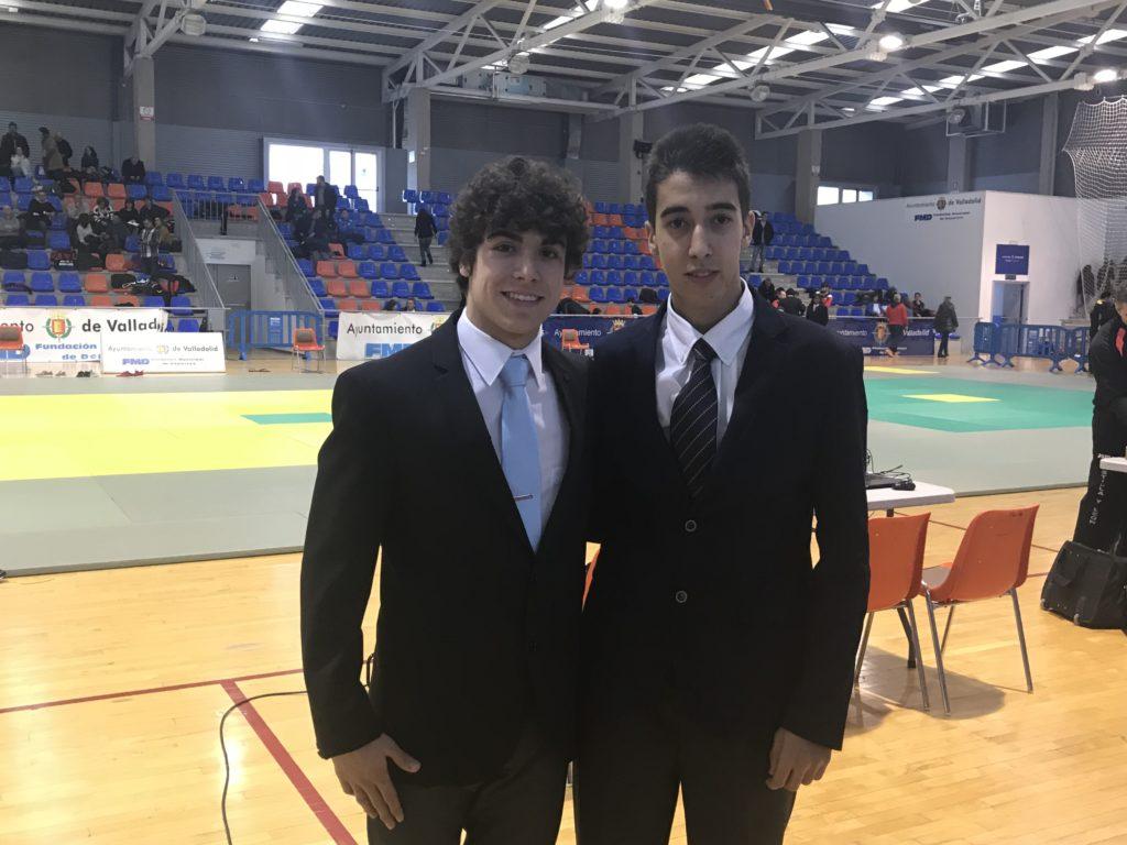 Pepe Ramos y Víctor Hernández del DOYROKU