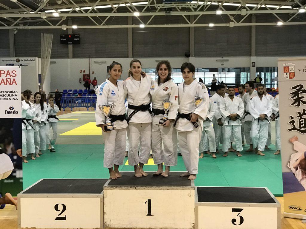 Cristina en el Trofeo Alejandro Blanco