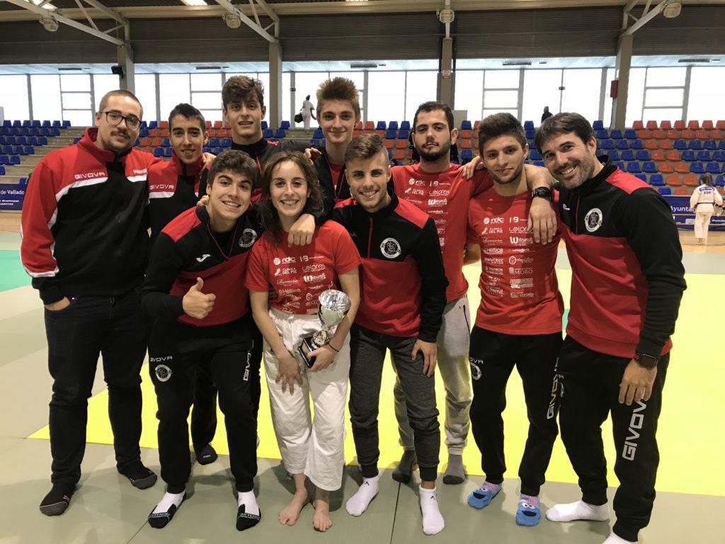 Judokas del Club Doryoku en el Trofeo Alejandro Blanco