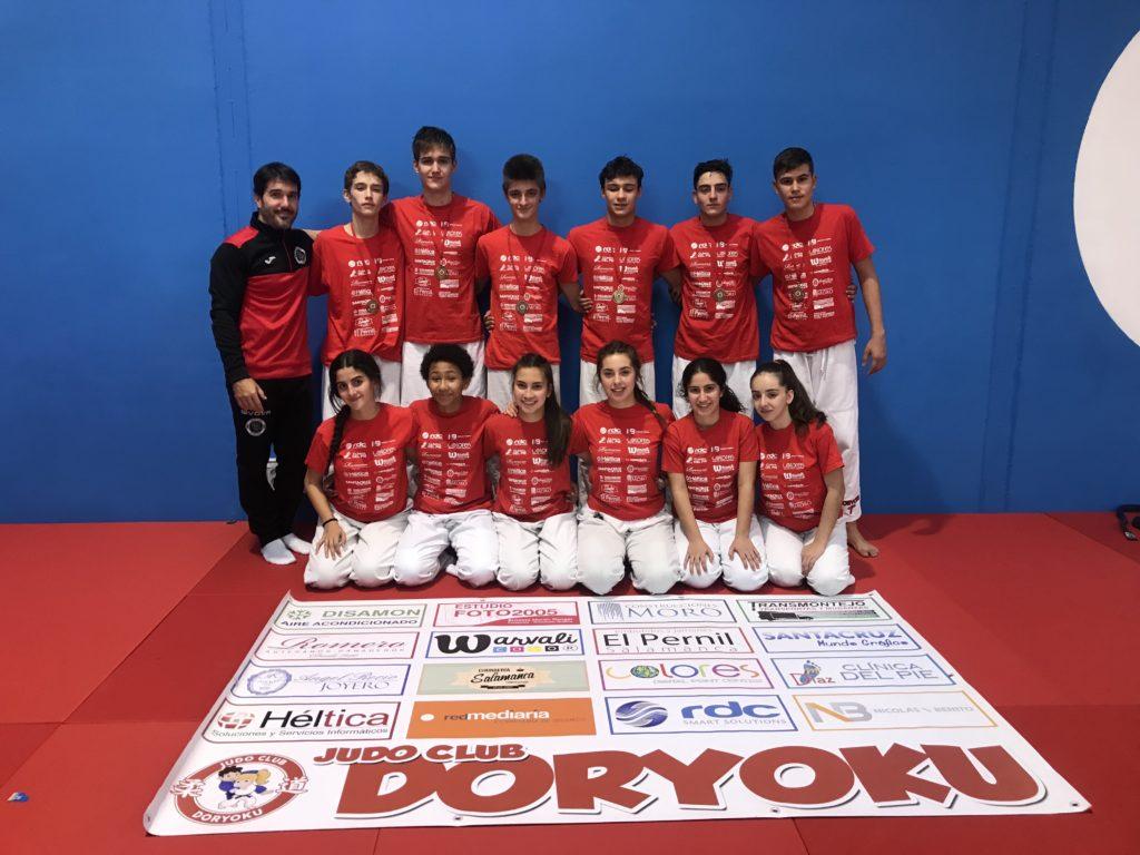 alumnos durante el Trofeo Peralta