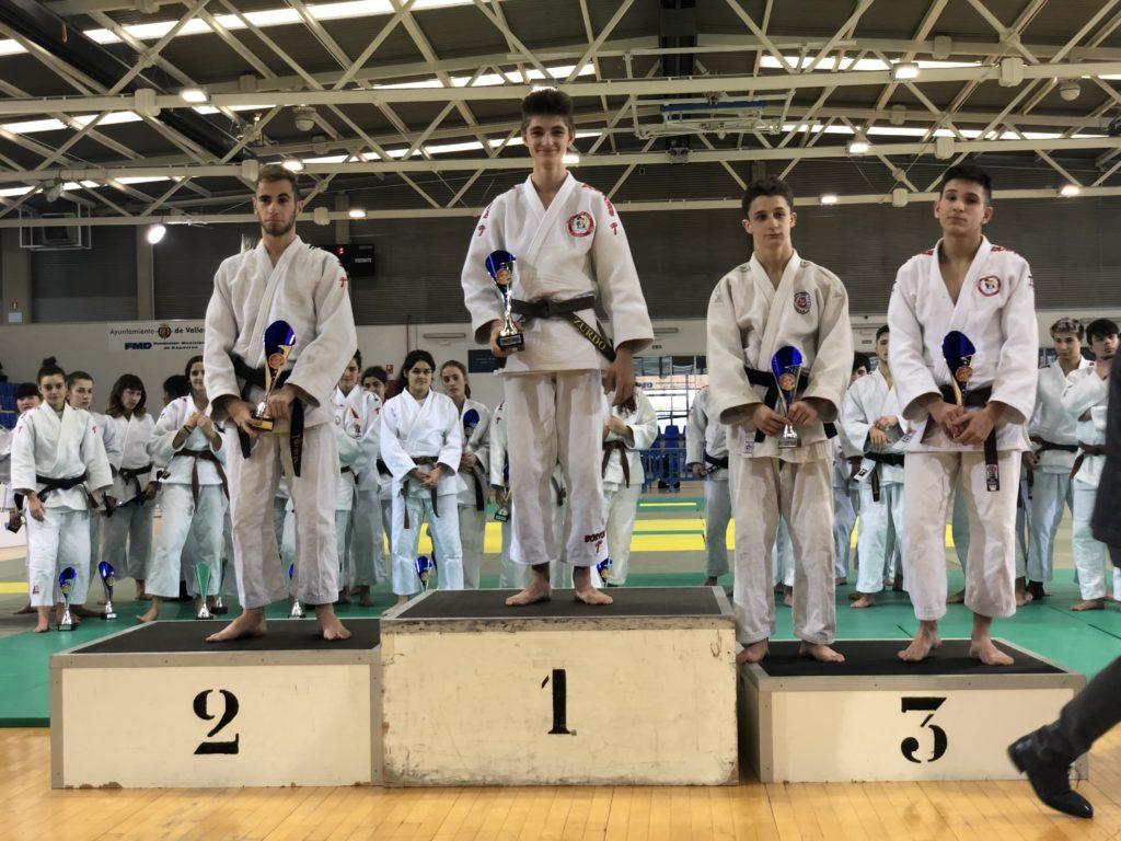 Álvaro Antón del Judo Club Doryoku