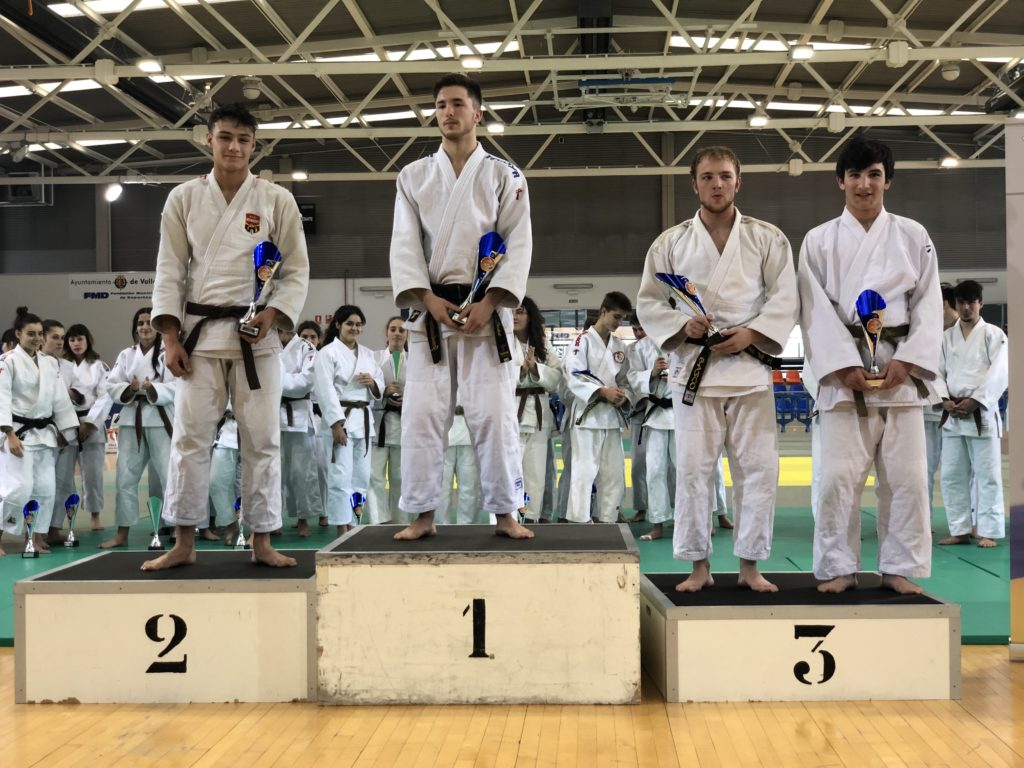 Álvaro Alonso del Judo Club Doryoku