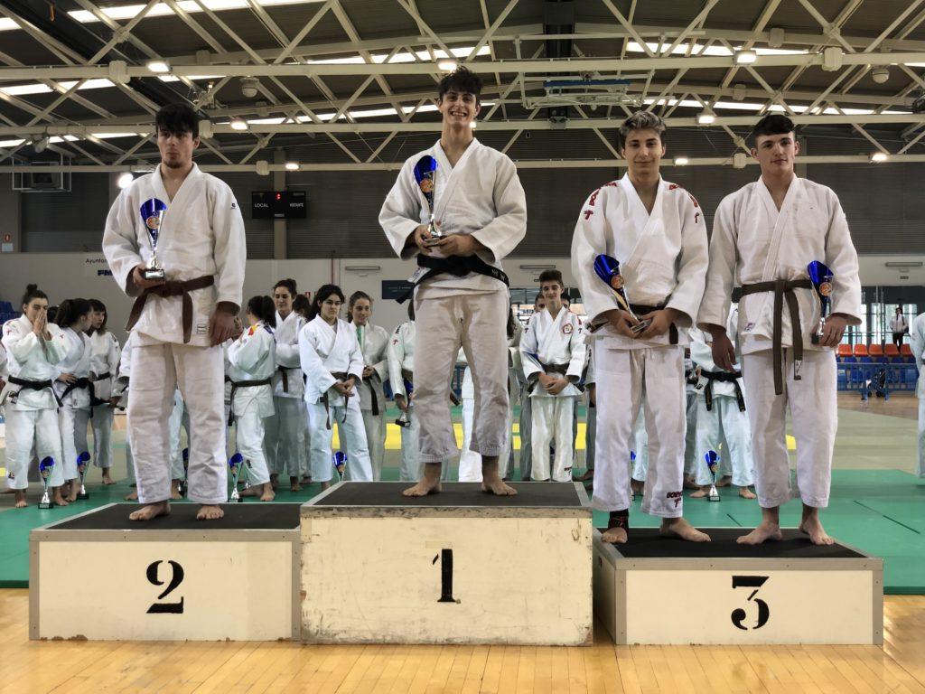 Marcos Mangas del Judo Club Doryoku