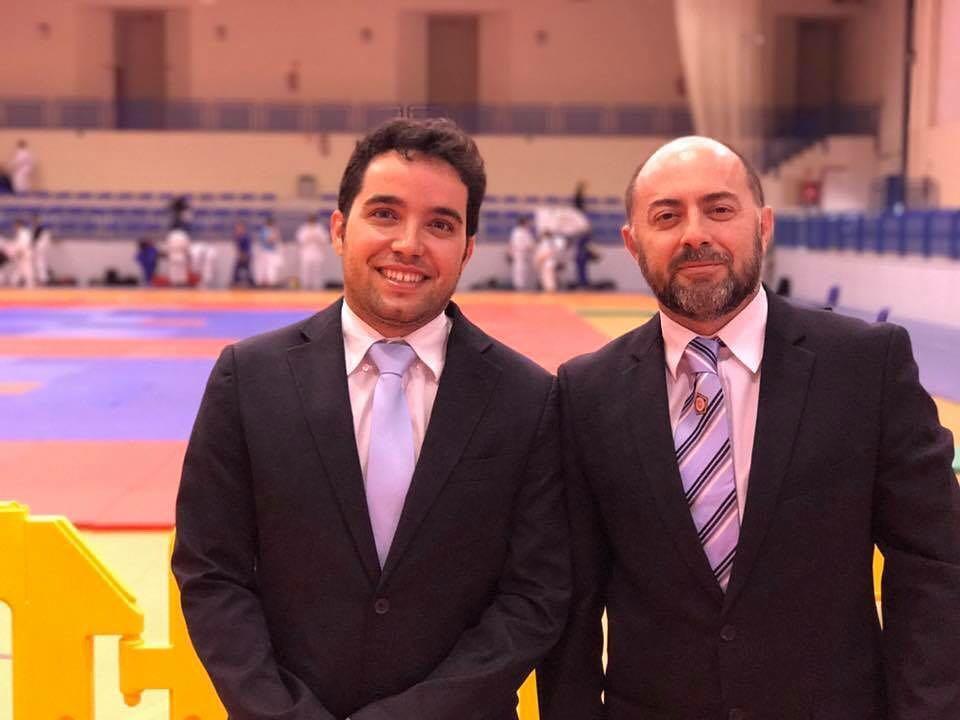 Javier y Gerardo en la European Cup de Fuengirola