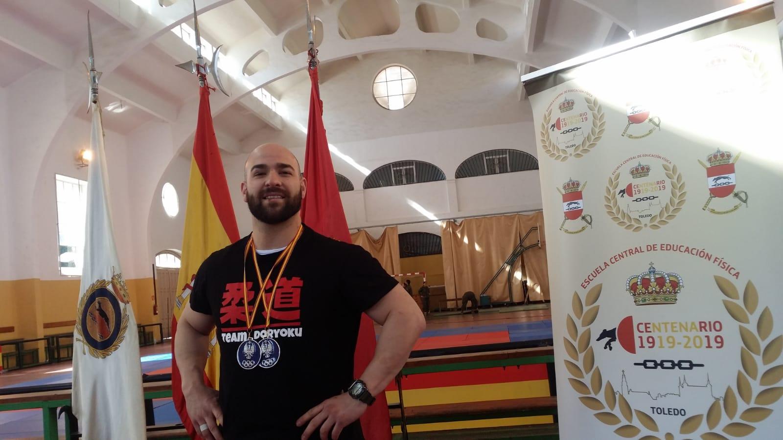 TADEO FERRAZ SUBCAMPEÓN DE ESPAÑA DE JUDO DEL EJÉRCITO DE TIERRA