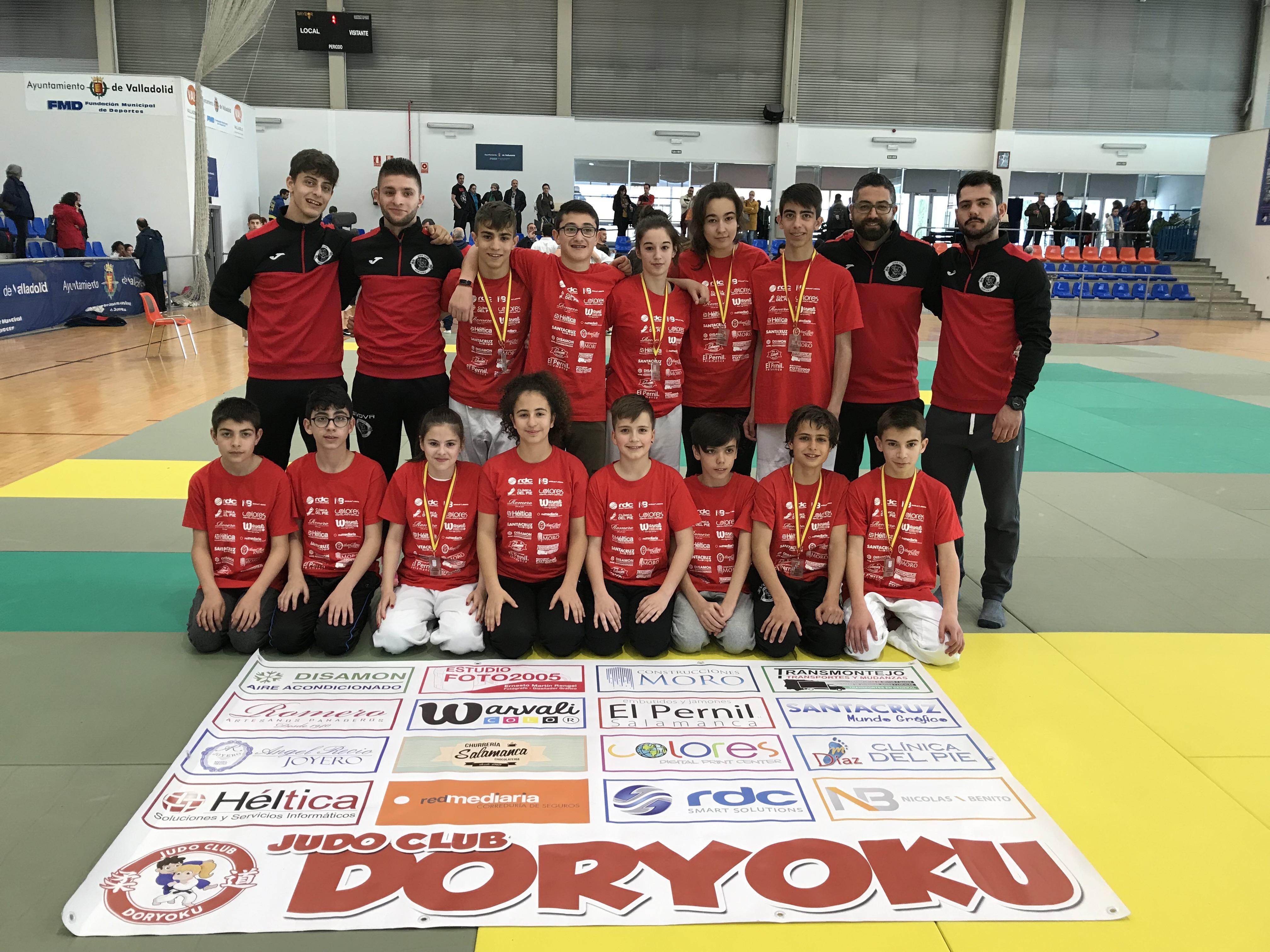 el Club Doryoku infantil y cadete