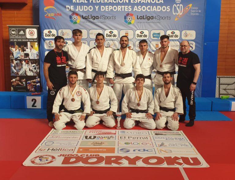EL JUDO CLUB DORYOKU ASCIENDE A SEGUNDA DIVISIÓN